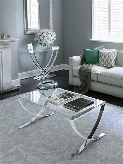 This small coffee table is definitely a match for your small space. Top 10: contemporary glass coffee tables for small spaces ...