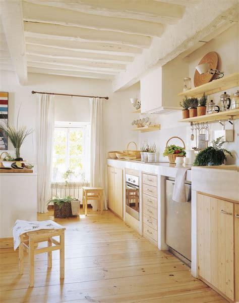 cocinas muy calidas  muebles de madera cocina