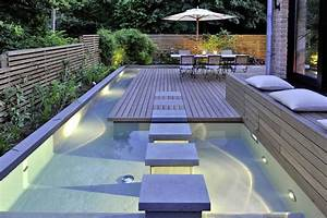 Mini Pool Terrasse : piscine clair e en bord de terrasse de quoi manger les ~ Michelbontemps.com Haus und Dekorationen
