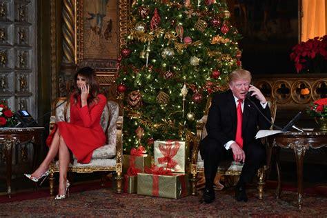 trump celebrates christmas   people  family