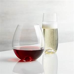 Lulie, Stemless, Wine, Glasses