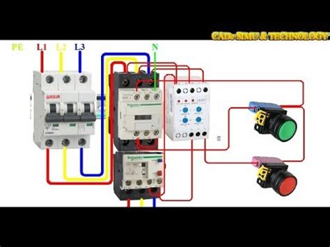 how to wire a xj3 d brand chint phase failure and phase sequence protective relay device