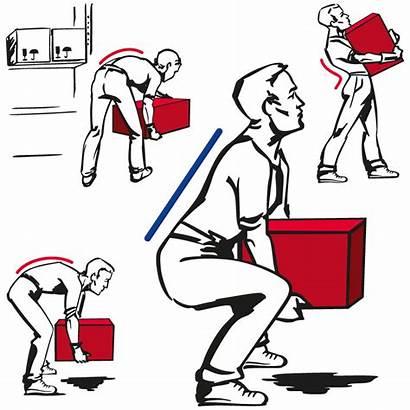 Lifting Handling Proper Techniques Manual Pain Heavy