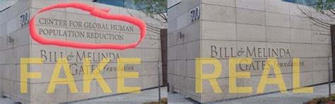 Is 'Center for Global Human Population Reduction ...