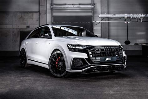 Audi Q8 Tuning Abt abt sportsline presented tuning of audi q8