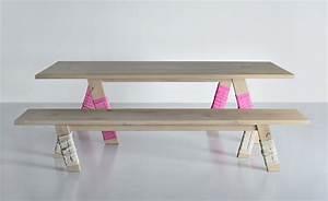 Sitzbank Mit Tisch : design sitzbank aus massivholz die bank go von vitamin design ~ Frokenaadalensverden.com Haus und Dekorationen