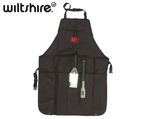 Wiltshire Bar-b Carry-all Apron W/ Mate & Tongs