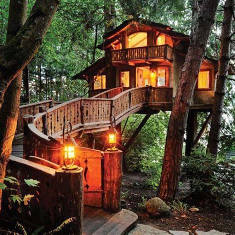 tree house  girl   dream home pinterest