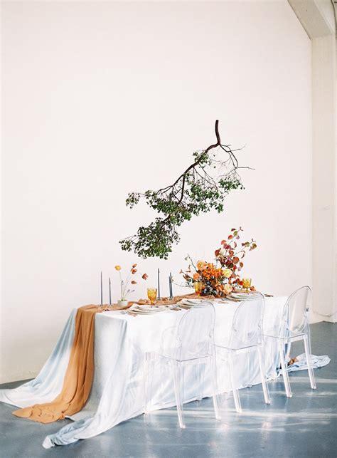 Wedding Decoration Minimalist by Fall Inspired Minimalist Modern Wedding Inspiration