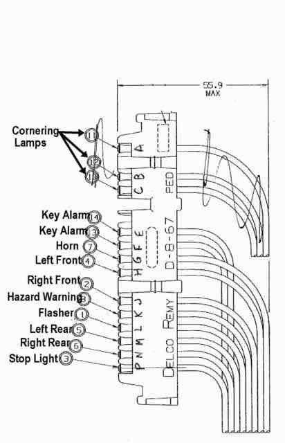 horn wiring from steering column corvetteforum chevrolet corvette discussion