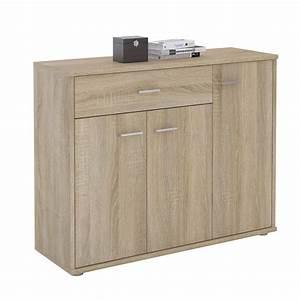 Mehrzweckschrank 40 Cm Breit : kommode sideboard mehrzweckschrank 3 t ren und 1 schublade 88 cm breit ebay ~ Orissabook.com Haus und Dekorationen