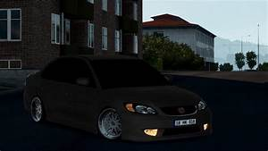 Ats Fog Lights Honda Civic Vtec V2 0 Car Mod Euro Truck Simulator 2 Mods