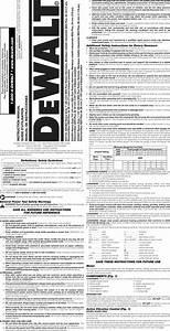 Dewalt D25133k Type 1 User Manual Drill Hammer Manuals And