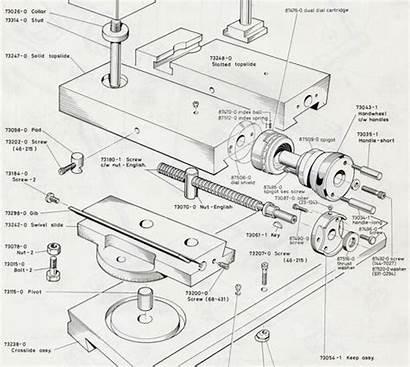 Lathe Parts Slide Colchester Clausing Machine Metal