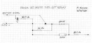 Pete Karasz V65 Fuel Pump Relay Schematic