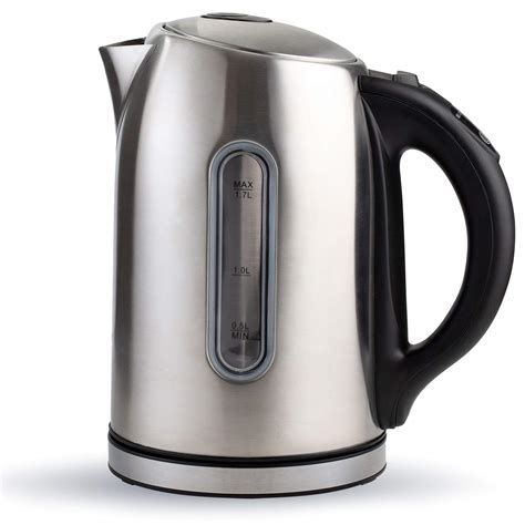 kettle electric tea brevo water cordless pot stainless steel glass control temperature fast kitchen liter kettles boiling clear heater chef