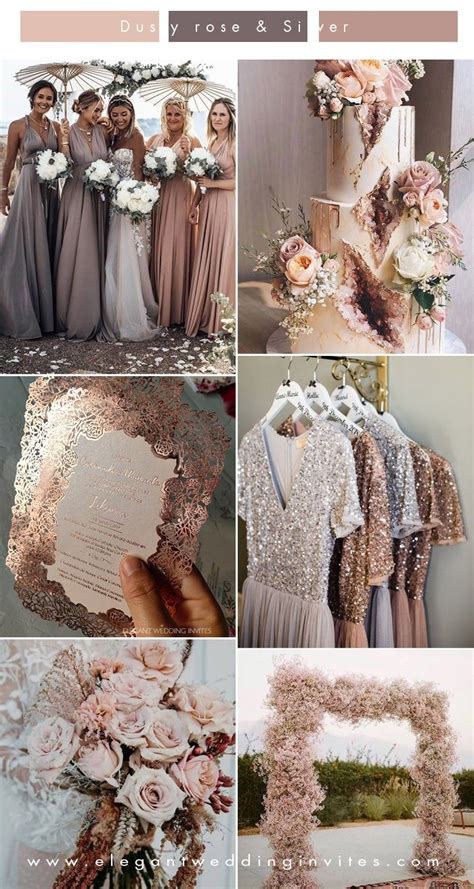 Pin by Oxi Smo on color in 2020 Dusty rose wedding