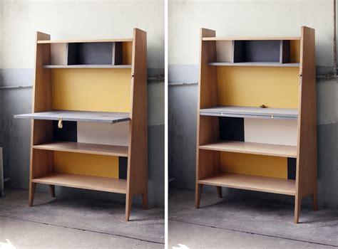bureau secretaire design des meubles esprit ées 50 avec cécile guignard