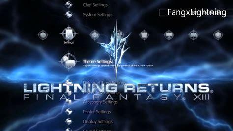 lightning returns final fantasy xiii ps3 theme free