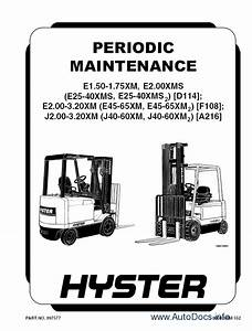 Hyster Class 5 Internal Combustion Engine Trucks