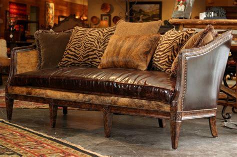 western sofarustic sofacowhide sofacomfortable sofa