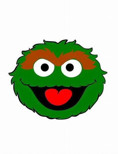 Oscar Grouch Sesame Street Svg Characters Elmo