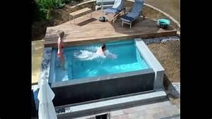 Kleiner Pool Für Terrasse : schwimmbadbau dokumentation eines pool im garten im zeitraffer youtube ~ Orissabook.com Haus und Dekorationen