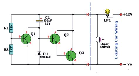 Dome Light Dimmer For Cars Electronics Forum Circuits