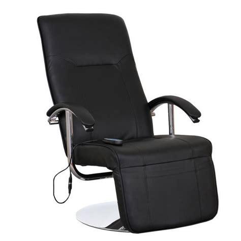 fauteuil de bureau massant fauteuil relax massant design cuir massia achat