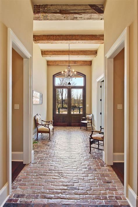 25  best ideas about Brick tile floor on Pinterest   Brick