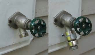 can 39 t drain water from water pipe to outside faucet