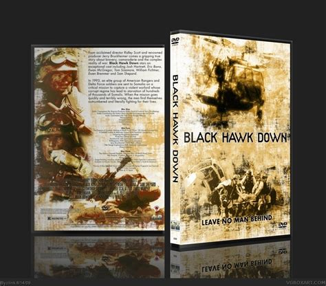 Black Hawk Down Movies Box Art Cover By Clink