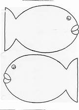 Fish Template Rainbow Templates Printable Blank Pattern Printables Scales Outline Patterns Preschool Coloring Clip Bmp Colored Clipart Library Crafts Could sketch template