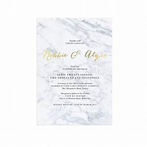gold foil marble wedding invitations sail and swan With elegant wedding invitations brisbane