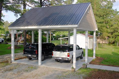 two car carport what are the dimensions on a 2 car carport