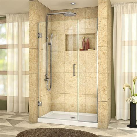 40 inch shower door dreamline shdr 243957210 unidoor plus 39 1 2 to 40 inch
