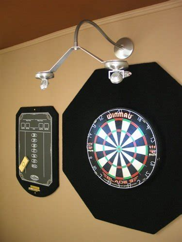 dart center cordless led dartboard light buy