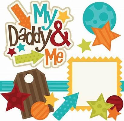 Clipart Daddy Svg Scrapbook Clip Scrapbooking Boy