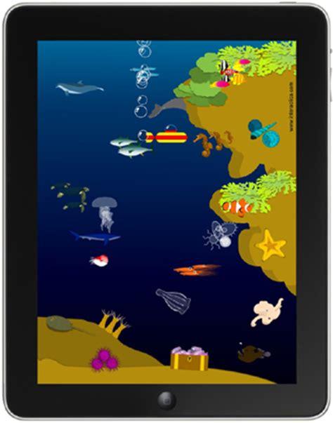 poisson interactica aquarium applications pour tablettes tactiles android