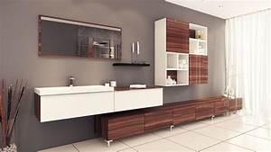 Photo Salle De Bain Moderne : salles de bain sur mesure 30 tendances concept ~ Premium-room.com Idées de Décoration