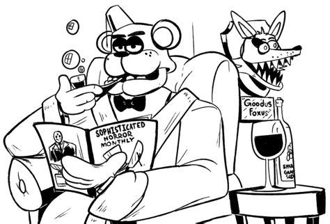 Kleurplaat Anime Beserk by Image 899725 Five Nights At Freddy S Your Meme