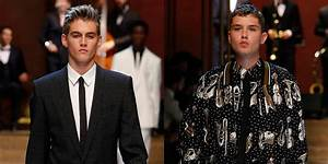 Presley Gerber & Rafferty Law Walk in Dolce&Gabbana Show ...