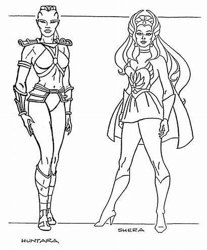 Coloring Pages He Ra Height She Princess