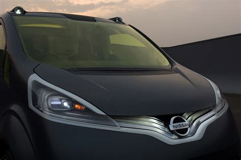 Nissan Nv200 Concept Brings Human Touch And
