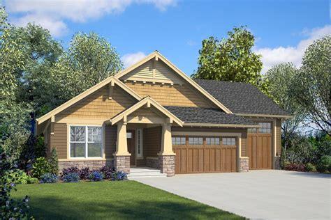 craftsman home plan   master suites   rv garage  architectural designs