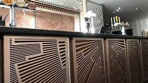 Art Deco Cocktail Bar And Restaurant Design