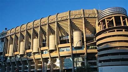 Madrid Stadium Bernabeu Santiago Wallpapers Spain Sky