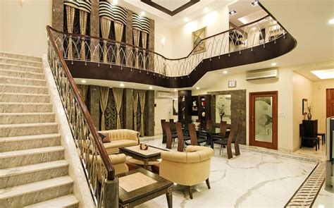 contemporary bungalow  india   touch  traditional flavour idesignarch interior