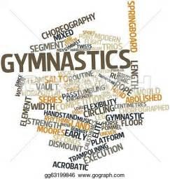 stock illustration gymnastics clipart gg63199846 gograph