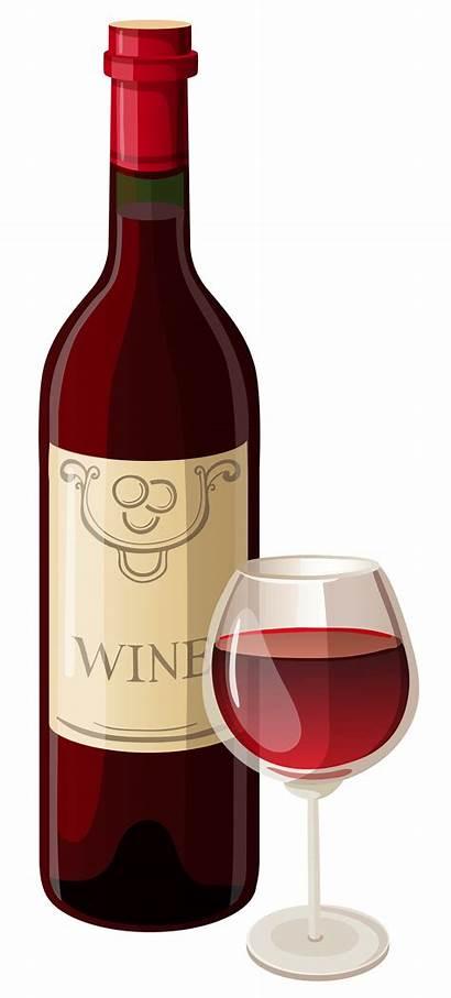 Wine Clipart Bottle Glass Vector Clipartix